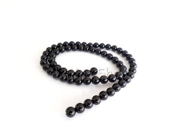 Onyx Beads - 4/6/8/10mm - 10 or 100 Beads
