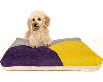 Dog Pillow Blue/dog pillow/fabric selection