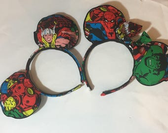 Marvel Heroes Mouse Ears