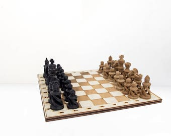 Chess Set Hemp