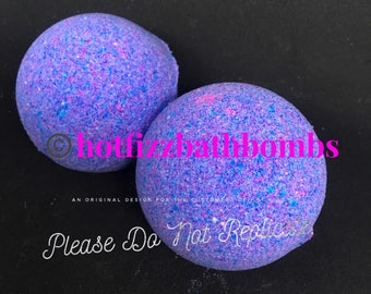 Fruity hoops fragranced bath bomb