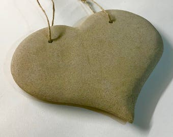 Hand made Derbyshire stone  Heart