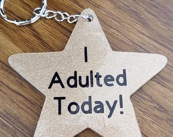 Gold star for Adulting