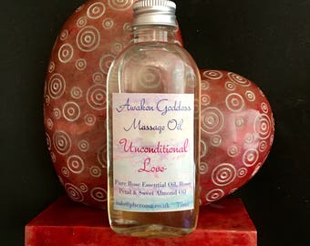 Goddess Massage Oil - Unconditional love