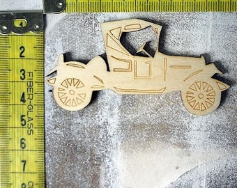 Jalopy 1299 embellishment wooden creations