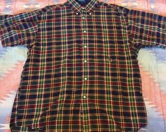 Vintage Tommy Hilfiger Plaid Shirt