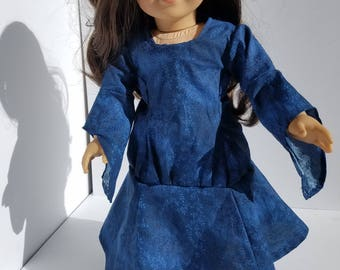 Medieval costume for 18 inch dolls