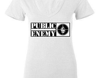 Public Enemy V-neck