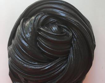 Black licoice butter slime