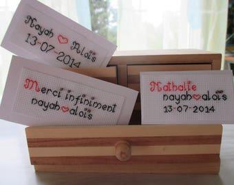 "Kit ""Labels for wedding invitation"""