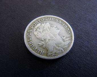 Portugal, 50 Centavos, 1955