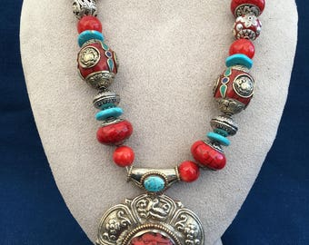 necklace from Tibet