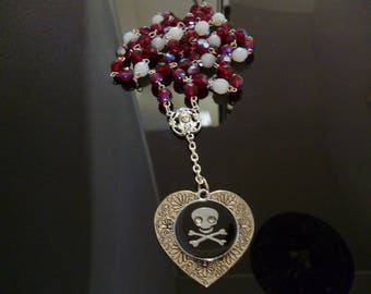Necklace pirate heart