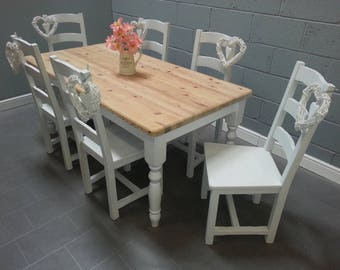 Gorgeous 6FT X 3FT Shabby Chic Country Farmhouse Set