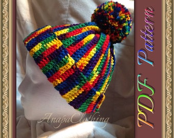 PDF Crochet Mexicana Hat