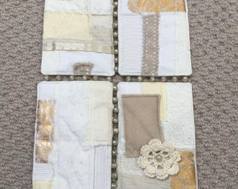 Neutral four panel hanging