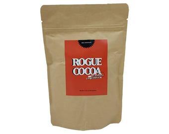 Caffeinated Hot Chocolate Single - Rogue Cocoa, Caffeine, Best Hot Chocolate, Iced Cocoa