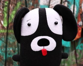 Dog plush toy handmade Stuffed soft toy dog Puppy dog toy Baby boy gift Animal doll Gift for kids