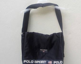 bag polo sport spell out messenger /sling/laptop/office bag