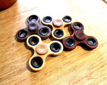 Wooden Fidget Spinners - 4 Wood Types - Eco Friendly - FidgetSpinners