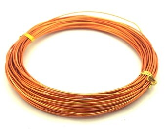 x10m aluminum diameter 1 mm, copper orange: FA0013