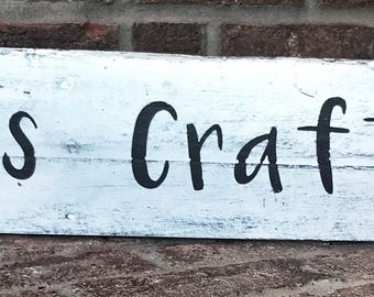 Mamas Craft Room Sign