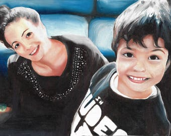 Custom Oil Paint Portraits, Hand Drawn Portraits , Custom Pencil Drawing, Drawing with Pencil, Drawing from Photo, Drawings,