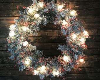 "Custom 22"" Christmas Wreath"