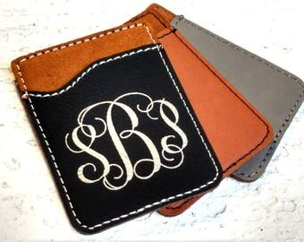 Phone Card Holder Cellphone Card Holder Card Holder Personalized Card Holder Custom Card Holder Custom Cellphone Holder Great Gifts