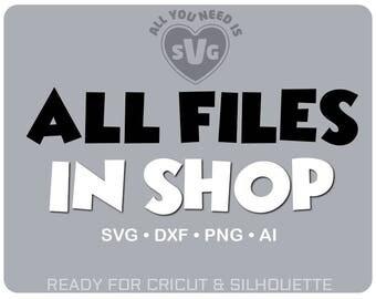 MONOGRAM SVG BUNDLE svg All Files in Shop dxf Bundle dxf file - Cricut files Silhouette files svg monogram best svg file