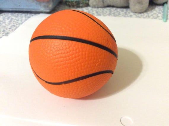 Basketball Squishy : Very squishy basketball squishysow rising.no returns