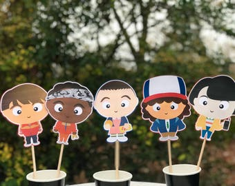 Stranger things , stranger things party decor, centerpieces , decorating , party supplies