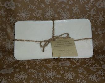 Goat's Milk Soap, SCENTED Soap, Pick your Scent, HANDMADE, Uncut 2 LB. Loaf, Goat Milk Soap
