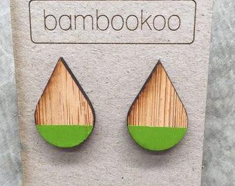 Bambookoo Teardrop stud