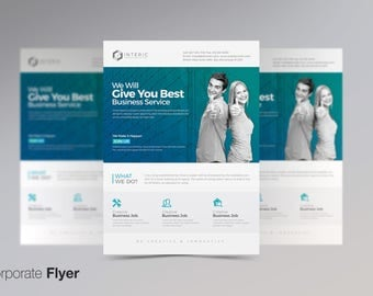 Corporate Business PSD Flyer Design