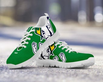 Notre Dame Football Fan Custom Running Shoes/Sneakers/Trainers - Ladies + Mens Sizes