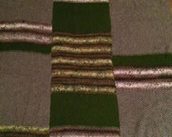 Knit Three Panel Super Soft Blanket