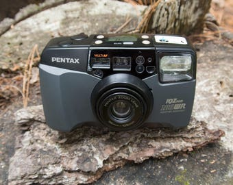 Pentax IQZoom 105WR 35mm Point and Shoot Camera