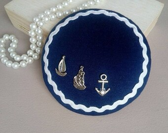 """""""Bibi"""" hat / fascinator - ships"""
