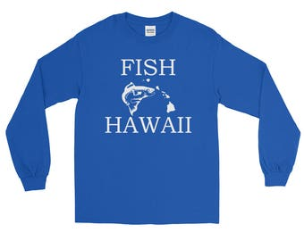 Fish Hawaii Fishing T-shirt | Fishing Apparel