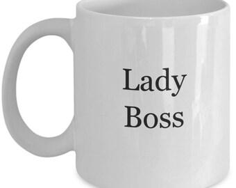 Gift for boss, boss lady mug, boss lady coffee mug, lady boss, boss lady gift, gift for lady boss, lady boss gift, lady boss mug