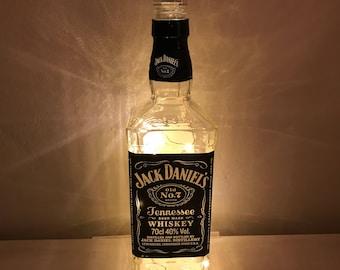 Jack Daniels Whiskey Fairy Lights in a Bottle