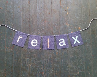 RELAX banner (Living Room Series)
