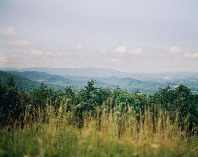 Blue Ridge Mountains, VA - 8x10 Digital C-Print.