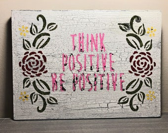 think positive etsy