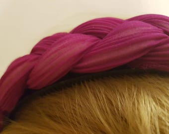 Plaited Pink Band