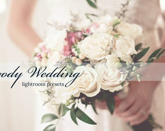 Moody Wedding Lightroom Presets (10 Presets)