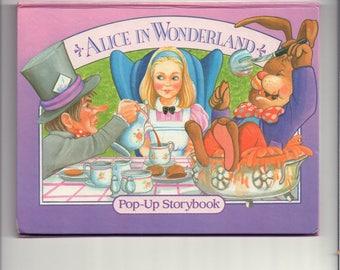 Alice in Wonderland Vintage Pop-Up Storybook