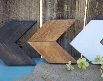 Wooden Arrow 3 Piece Set