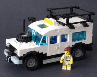 LEGO CITY Safari Vehicle With Minifig
